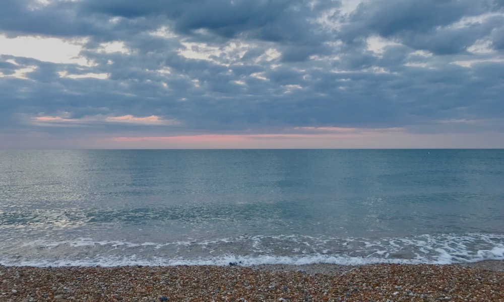 South Coast, summer, before sunrise. Reset.