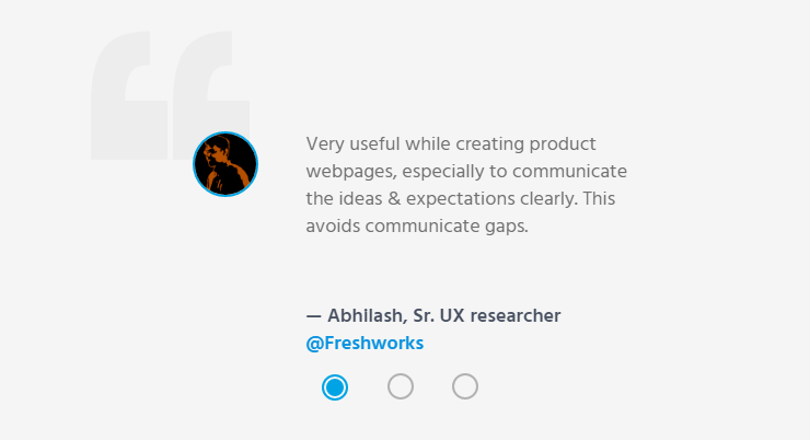 Abhilash, Sr. UX researcher @Freshworks